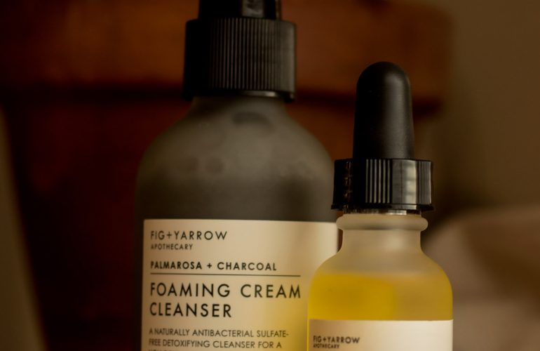 fig and yarrow cleanser and serum